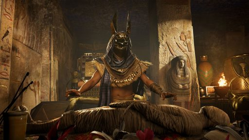Momia en Egipto